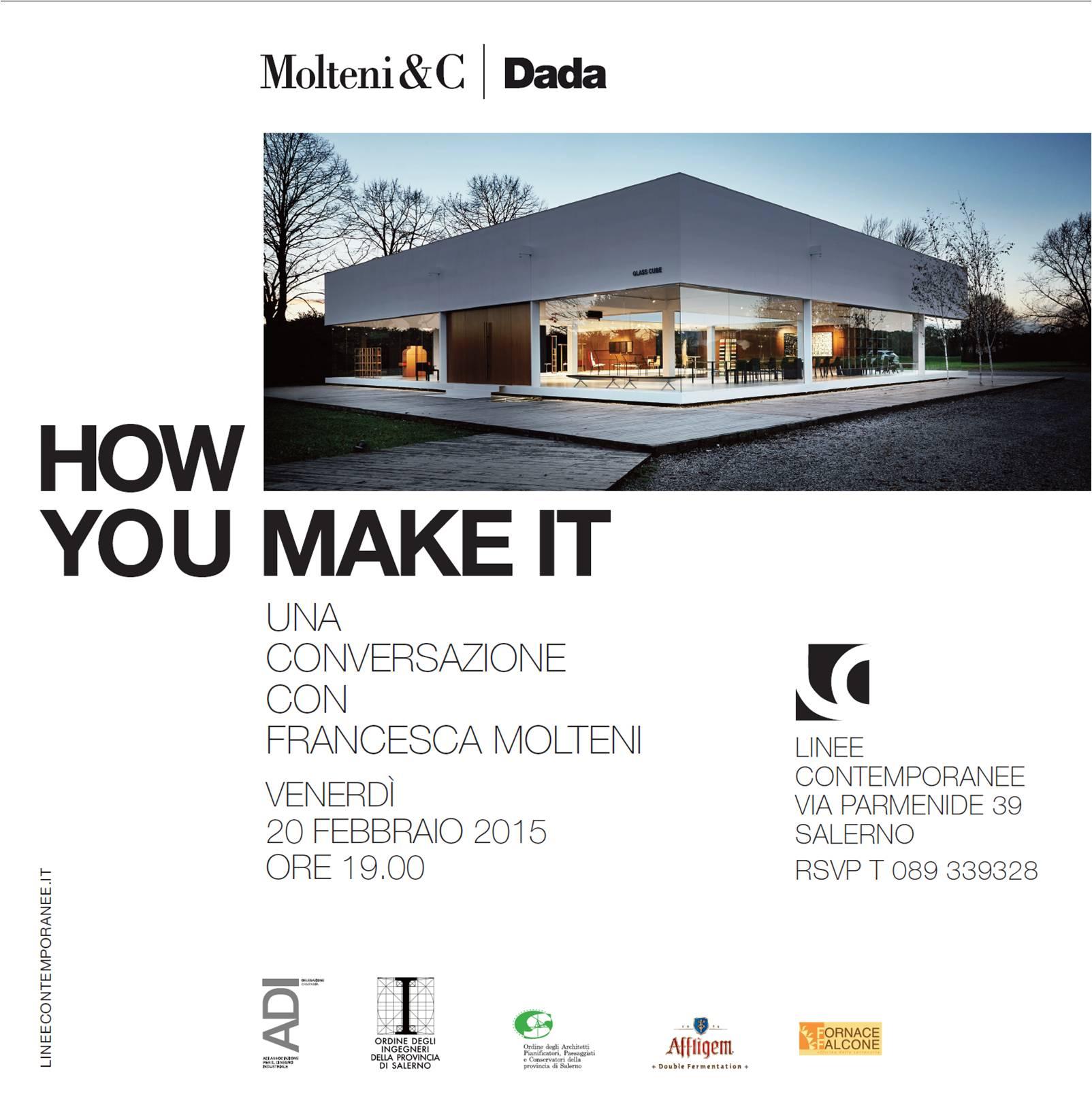 "linee contemporanee | ""HOW YOU MAKE IT"" _ Una Conversazione ..."